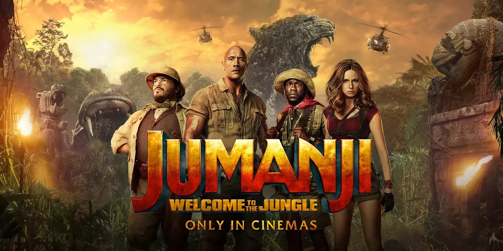 jumanji welcome to the jungle 2017 comedy movie reviews. Black Bedroom Furniture Sets. Home Design Ideas